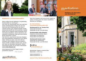 Flyer Mediation Antje Pfingsten